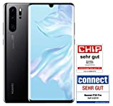 HUAWEI P30 Pro Dual-SIM Smartphone Bundle (6,47 Zoll, 128 GB ROM, 8 GB RAM, Android 9.0) Black + USB-Adapter [Exklusiv bei Amazon] - DE Version