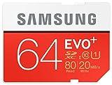 Samsung Speicherkarte SDHC 32GB EVO Plus UHS-I Grade 1 Class 10 für Foto und Video Kameras, frustfrei