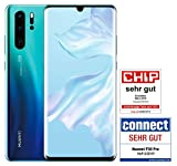 HUAWEI P30 Pro Dual-SIM Smartphone Bundle (6,47 Zoll, 128 GB ROM, 8 GB RAM, Android 9.0) Aurora + USB-Adapter [Exklusiv bei Amazon] - DE Version
