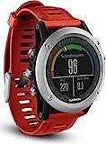 Garmin fenix 3 GPS-Multisportuhr, Smartwatch-, Navigations- und Sportfunktionen, GPS/GLONASS, 1,2 Zoll (3 cm) Farbdisplay, 010-01338-06
