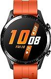 HUAWEI Watch GT 2 (46 mm) - mit Herzfrequenz-Messung, Musik Wiedergabe & Bluetooth Telefonie - 5ATM wasserdicht + 5EUR Amazon Gutschein, Sunset Orange