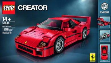Bild von Lego bringt einen Ferrari F40 raus