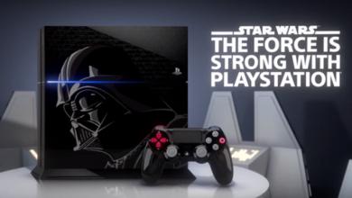 Photo of Playstation 4 im Star Wars (Darth Vader) Design