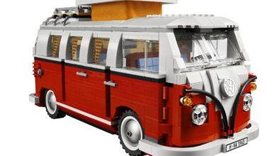 Photo of Timelapse – Bau des Lego T1 VW Bus
