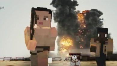 Photo of Star Wars – Die Macht erwacht Trailer in Minecraft nachgebaut