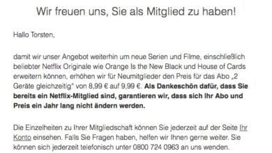 Photo of Netflix dreht an der Preisschraube
