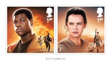 Bild von Die Royal Mail bringt einen Satz Star Wars Briefmarken raus
