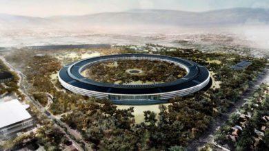 Photo of Drohnenflug über die Baustelle des Apple Campus 2