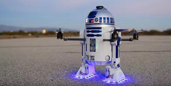 R2 D2 - Drohne