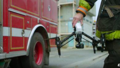 Photo of Drohnen mit Wärmebildkameras im Einsatz bei der Brandbekämpfung