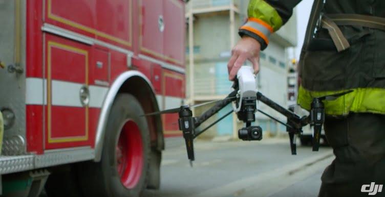 Drohne bei der Feuerwehr