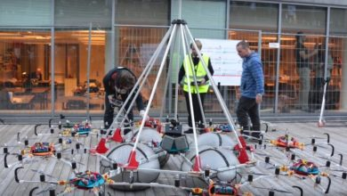 Photo of Noch ein Drohnen Weltrekord – Gewichtheben