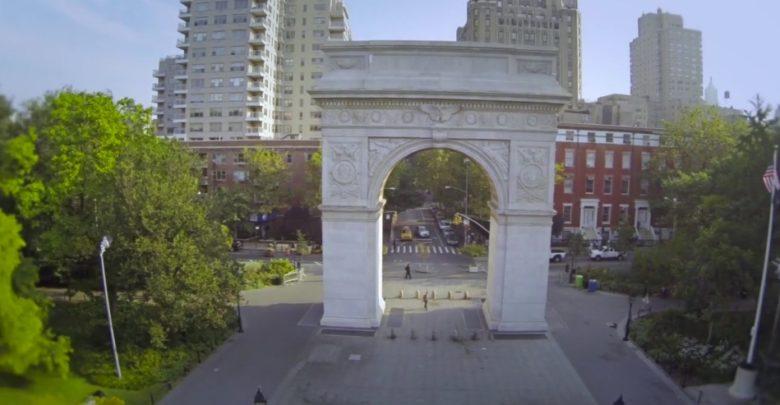 NYC Drohne