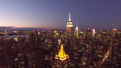 Photo of Sonnenaufgang über New York – NYC Sunrise Revolution