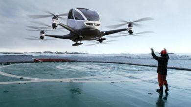 Photo of EHANG184 – Die erste Drohne zur Personenbeförderung