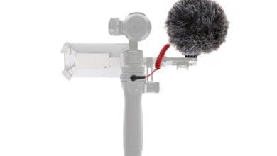 Photo of Externes Mikrofon für den DJI Osmo (Rode Hypercardioid Microphone)
