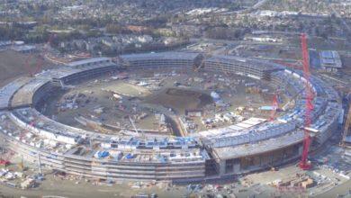 Photo of Apple Campus 2 – Baufortschritt im Februar 2016