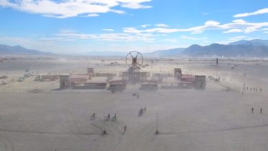 Photo of Drohne über dem Burning Man 2016