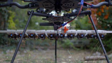 Photo of 1.000 Watt LED-Rig an einer Drohne liefert spektakuläre Aufnahmen