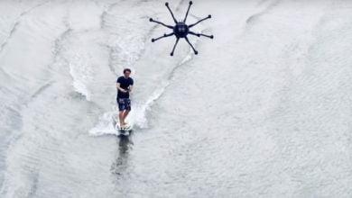 Photo of Dronesurfing – jemand Lust drauf?