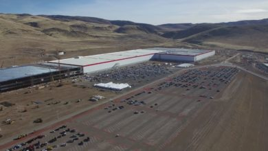 Photo of Flug über Teslas Gigafactory