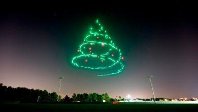 Photo of Drohne statt Feuerwerk – Disney malt Animationen an den Nachthimmel