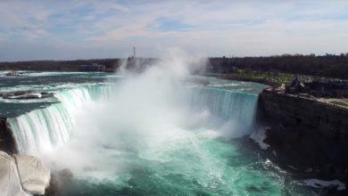 Photo of Flug über die Niagara Fälle