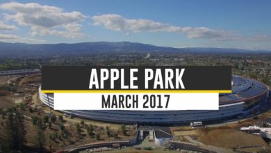 Photo of Flug über den Apple Campus – März 2017