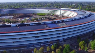 Photo of Apple Park im April 2017