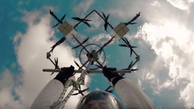 Photo of Erster Drohnen Basejump – kann man mal machen