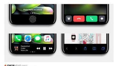 Photo of So könnte der Multifunktionsbereich beim iPhone 8 aussehen