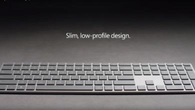 """Photo of """"Modern Keyboard"""": Microsoft stellt Tastatur mit integriertem Fingerprint Reader vor"""
