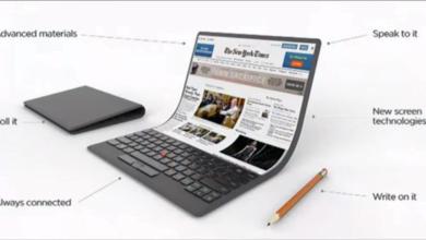 Photo of Lenovo-Konzept: Notebooks mit faltbaren Displays