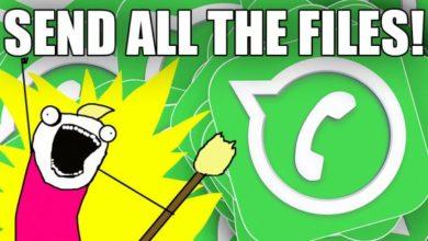 Photo of WhatsApp: Jetzt alle Dateitypen versenden