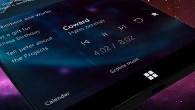 Bild von Wunderschönes Konzept: Surface Phone mit Fluent Design