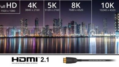 Photo of HDMI 2.1 unterstützt 10K, Dynamic HDR und mehr