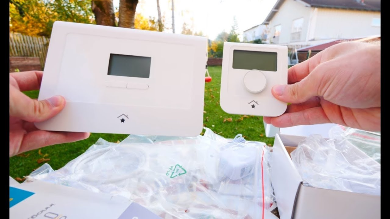Photo of Innogy SE SmartHome Zentrale + Raumthermostat im Unboxing