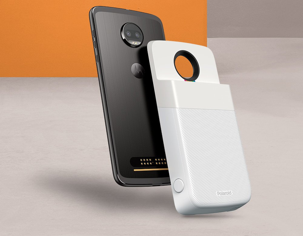 Photo of Neues Moto Mod: Polaroid Insta-Share Drucker