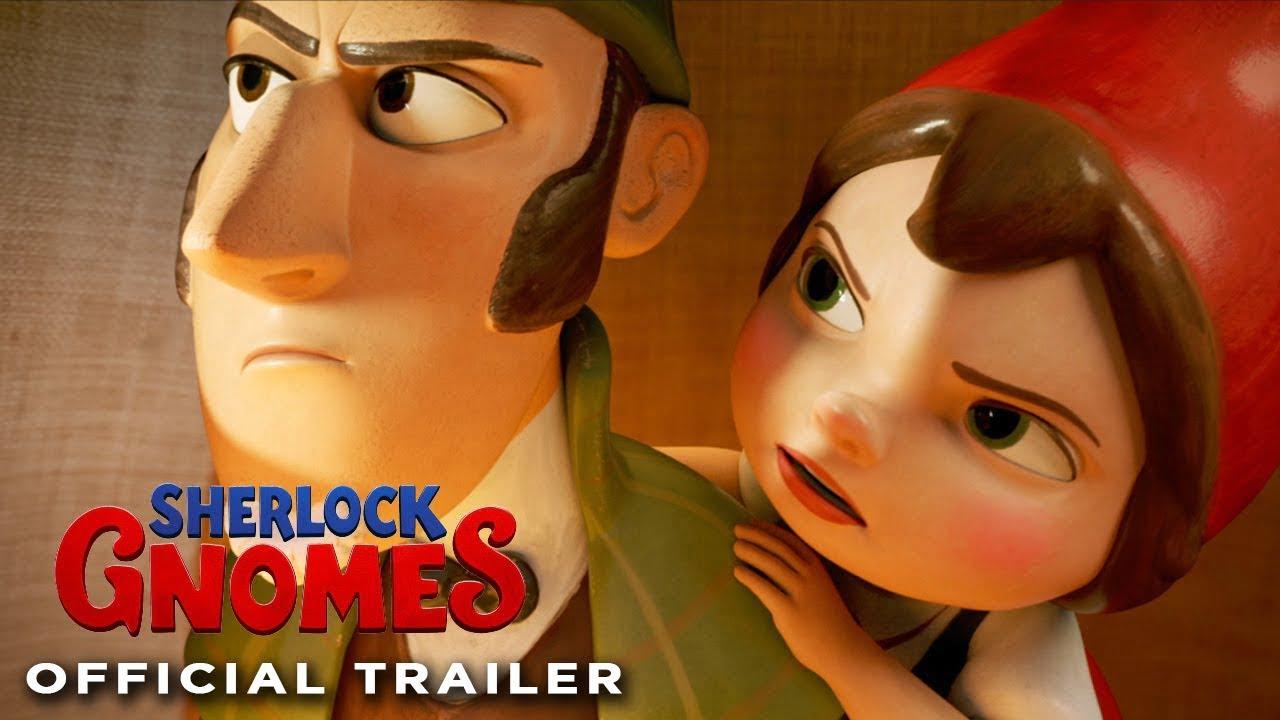 Photo of Sherlock Gnomes Trailer
