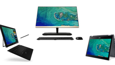 Photo of IFA 2017: Acer zeigt neue Notebooks, Convertible, 2-in-1, Chromebook und All-in-One PC