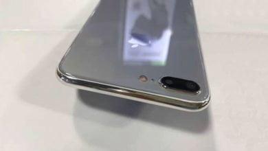 Photo of iPhone 7s Plus mit Glasrückseite – Hinweis auf induktives Laden?