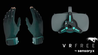 Photo of Sensoryx zeigt VRfree Virtual Reality Handschuhe