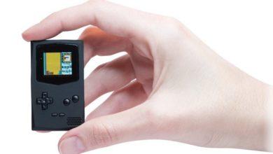 Bild von Gameboy-Klon PocketSprite ist die kleinste Konsole der Welt