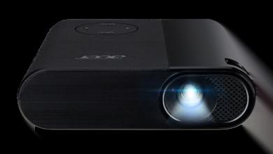 Bild von Der Acer C200 – Minibeamer mit Akku im Taschenformat