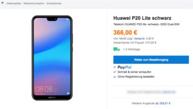 Photo of Huawei P20 lite kann bereits bestellt werden