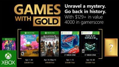 Bild von Games with Gold für April 2018