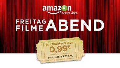 Bild von Amazon Freitagskino: 10 Filme gibt es für je 99 Cent