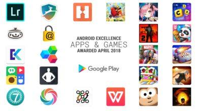 """Bild von Google: Dies sind die """"exzellenten"""" Android Apps für Q2 2018"""