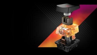 Bild von Roccat Vulcan mit Titan Switches vorgestellt