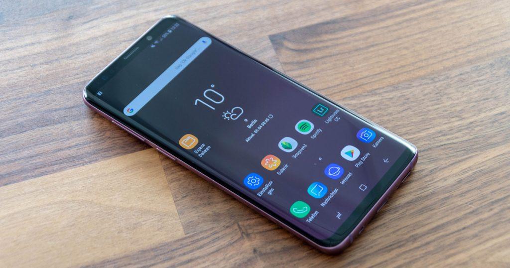iphone 8 vs samsung s9 deutsch